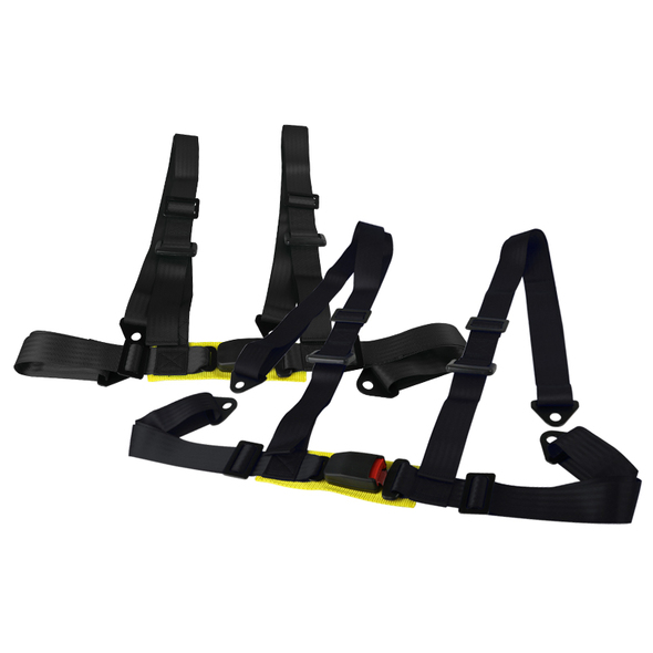 2X4 Point Racing Seat Belt Harness (Black)