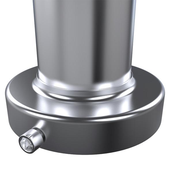 "Universal N1 Style Muffler 4.5"" Tip Silencer"