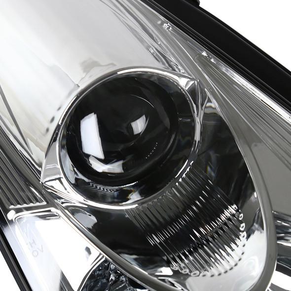 2000-2005 Toyota Celica Projector Headlights (Chrome Housing/Clear Lens)