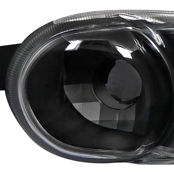 2000-2006 GMC Sierra/Yukon/Yukon XL Denali Bumper Lights (Matte Black Housing/Clear Lens)
