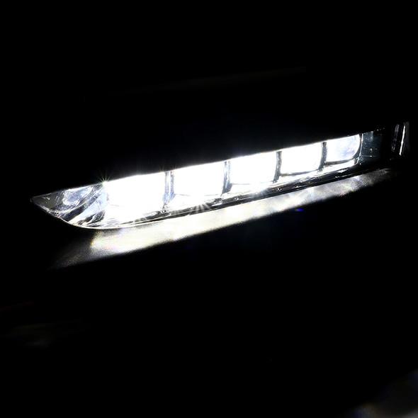 2016-2017 Honda Accord Sedan 4-Door Clear SMD LED Fog Lights w/ Switch