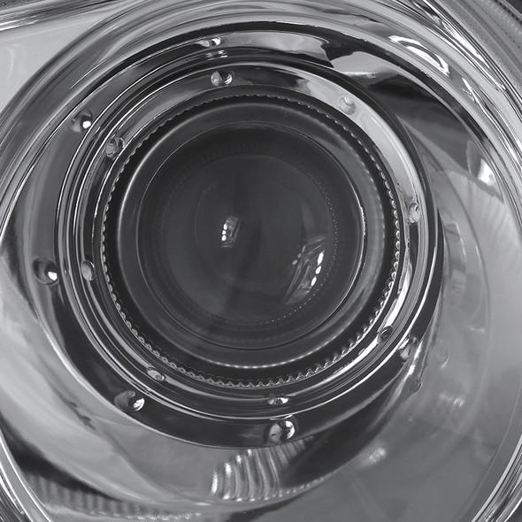 2005-2010 Chrysler 300 Factory Style Projector Headlights (Chrome Housing/Clear Lens)