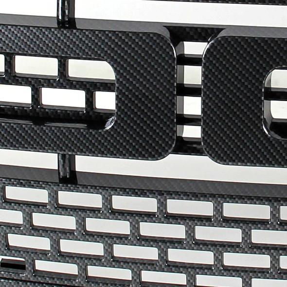 2009-2014 Ford F-150 Front Hood Grille (Carbon Fiber)