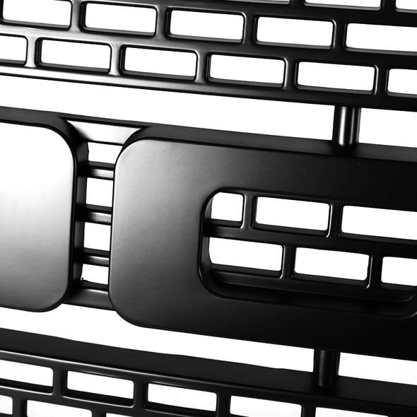 2009-2014 Ford F150 Matte Black Luxury Raptor Style Front Hood Grille