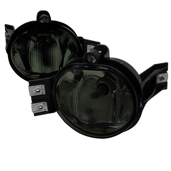 2002-2008 Dodge Ram Fog Lights (Chrome Housing/Smoke Lens)