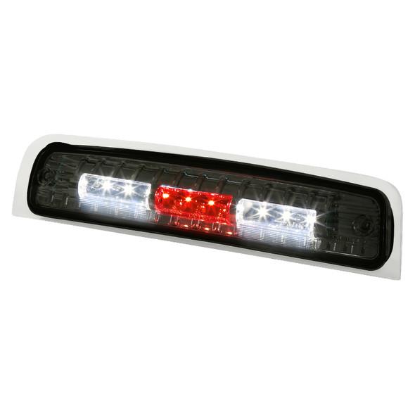 2009-2013 Dodge RAM 1500/2500/3500 SMD LED 3rd Brake Tail Light (Chrome Housing/Smoke Lens)