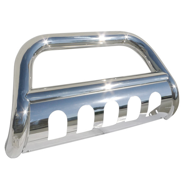 1999-2007 Chevrolet Silverado/GMC Sierra 1500LD Bull Bar with Skid Plate (Chrome)