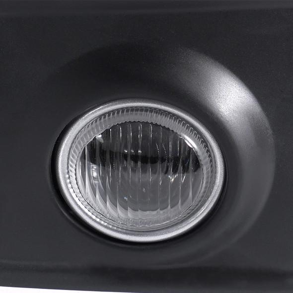 2003-2005 Infiniti G35 Coupe H3 Fog Lights Kit  (Chrome Housing/Clear Lens)