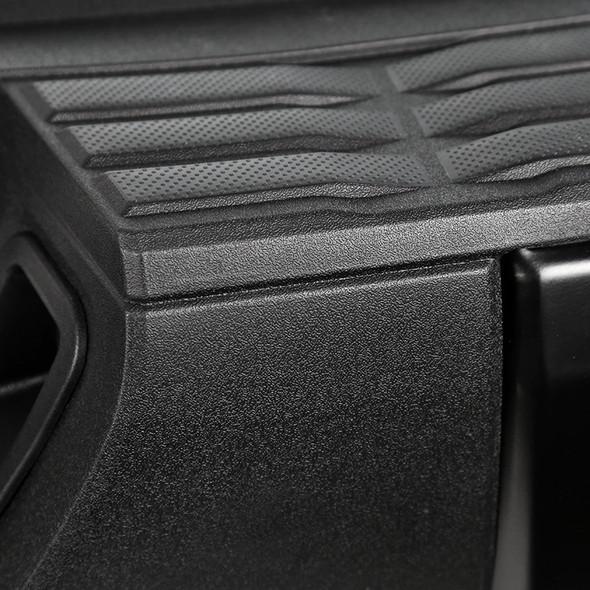 2014-2016 Toyota Tundra Stainless Steel Rear Bumper Step w Pad Bracket (Black)