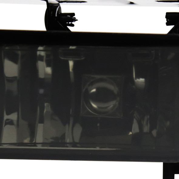 2002-2006 Cadillac Escalade Bumper Fog Lights (Chrome Housing/Smoke Lens)