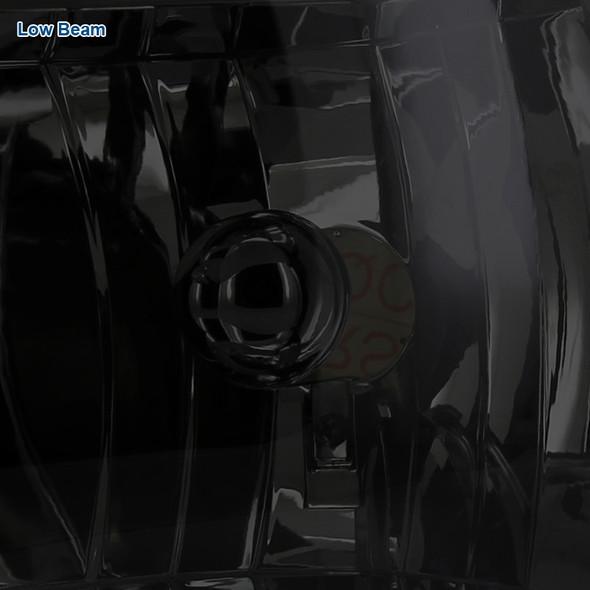 1994-2001 Dodge RAM 1500/2500/3500 Smoke Lens Crystal Headlights