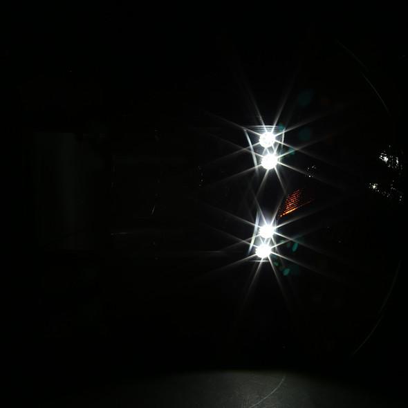 1994-2001 Dodge RAM LED Factory Style Headlights (Matte Black Housing/Clear Lens)