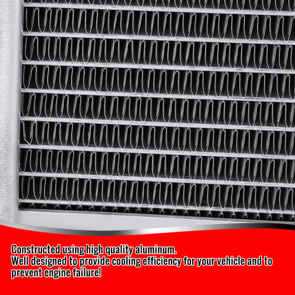 1994-1995 Ford Mustang GT/GTS/SVT Manual Transmission Aluminum 3-Row Performance Cooling Radiator