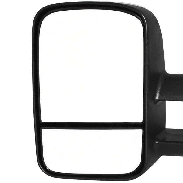 2007-2014 Chevrolet Silverado Sierra Tahoe Manual Extend Towing Mirrors