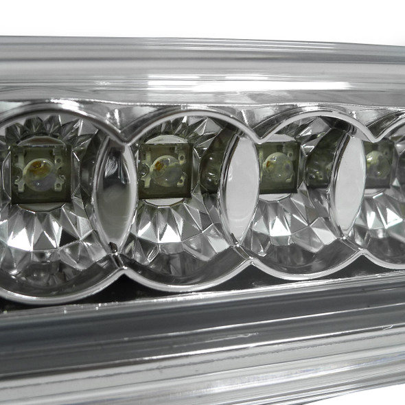 2004-2015 Nissan Titan LED 3rd Brake Light - CY (Chrome Housing/Clear Lens)