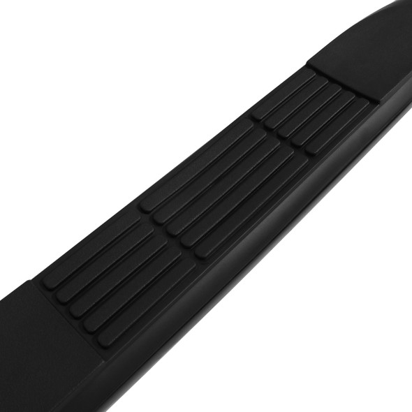 "1999-2018 Chevrolet GMC Silverado/Sierra 1500/2500/3500 Regular Cab 3"" Black Side Step Bars"