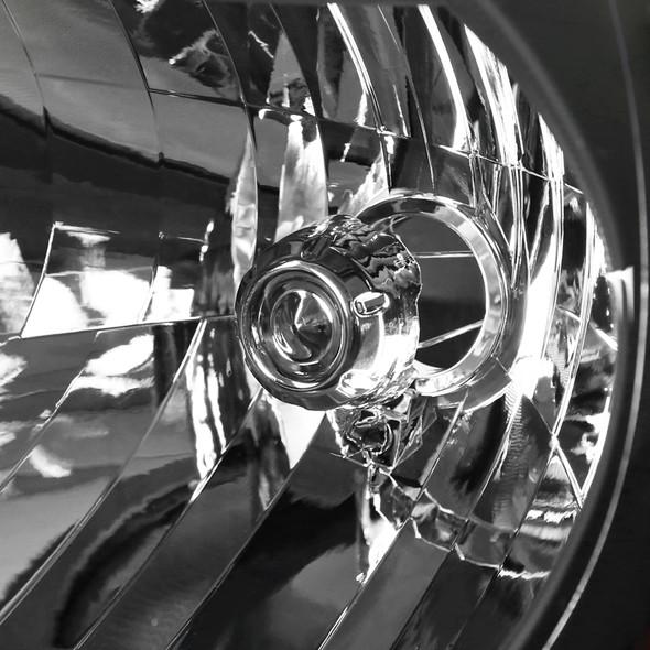 2012-2015 Toyota Tacoma JDM Style Headlights w/ Amber Reflectors (Matte Black Housing/Clear Lens)