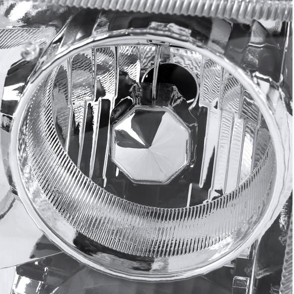 1993-1997 Ford Ranger Projector Headlights (Chrome Housing/Clear Lens)