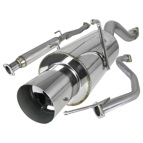 1994-2001 Acura Integra Hatchback LS/RS/GS T-304 Stainless Steel N1 Style Catback Exhaust System