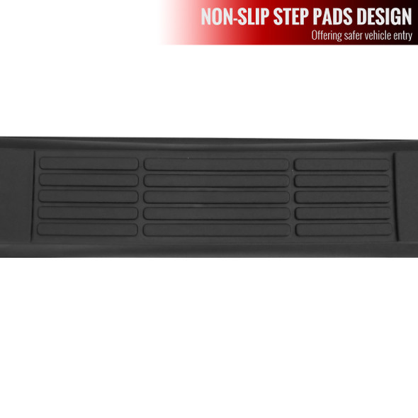 2006-2012 Toyota RAV4 Stainless Steel Black Side Step Nerf Bars