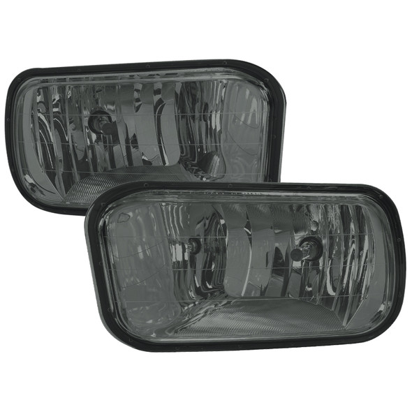 2009-2018 Dodge RAM 1500/2500/3500 H10 Fog Lights (Chrome Housing/Smoke Lens)