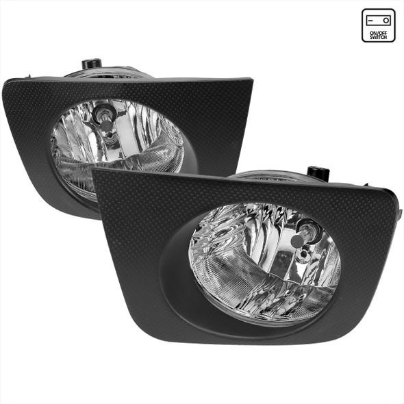 2006-2009 Toyota 4Runner 9006 HB4 Fog Lights (Chrome Housing/Clear Lens)