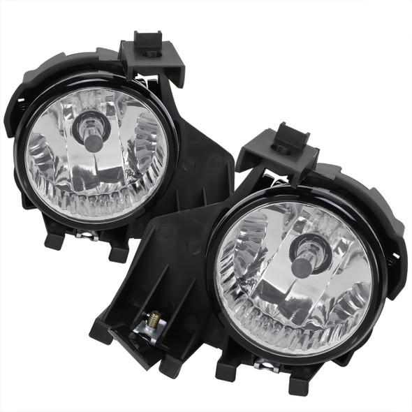 2008-2011 Subaru Impreza WRX 9006 HB4 Fog Lights Kit w/ Switch & Wiring Harness (Chrome Housing/Clear Lens)