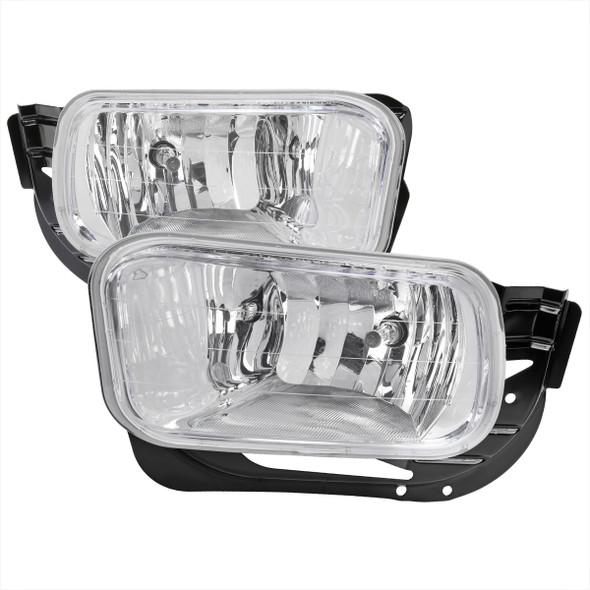 2009-2012 Dodge RAM 1500/ 2010-2018 RAM 2500/3500 H10 Fog Lights (Chrome Housing/Clear Lens)