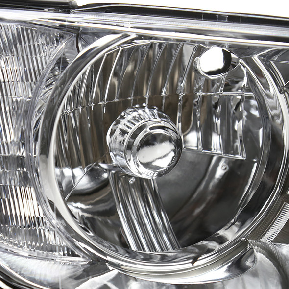 2001-2005 Lexus IS300 Factory Style Crystal Headlights (Chrome Housing/Clear Lens)