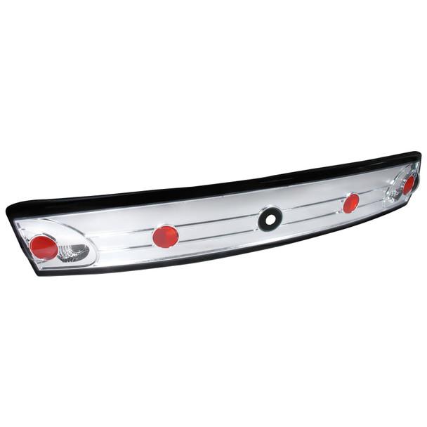 2003-2005 Chevrolet Cavalier Trunk Tail Lights (Chrome Housing/Clear Lens)