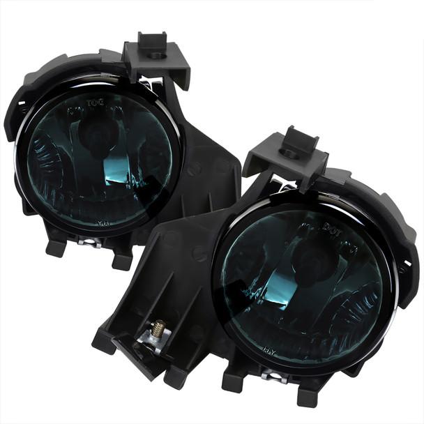 2008-2011 Subaru Impreza WRX 9006 HB4 Fog Lights (Chrome Housing/Smoke Lens)