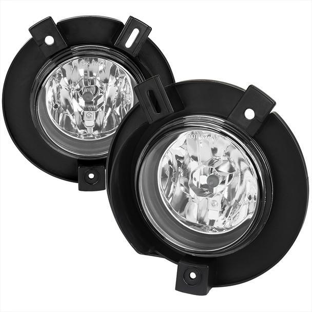 2002-2005 Ford Explorer H10 Fog Lights (Chrome Housing/Clear Lens)
