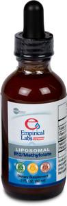 Liposomal B12/Methylfolate 60 Servings