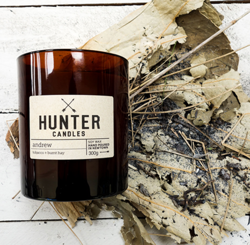 Andrew Candle by  Hunter Candles