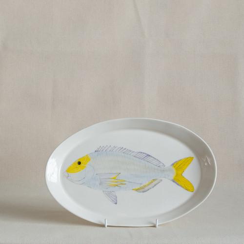 Queen Snapper Medium Platter by Casa Adams Fine Wares - CAA.011
