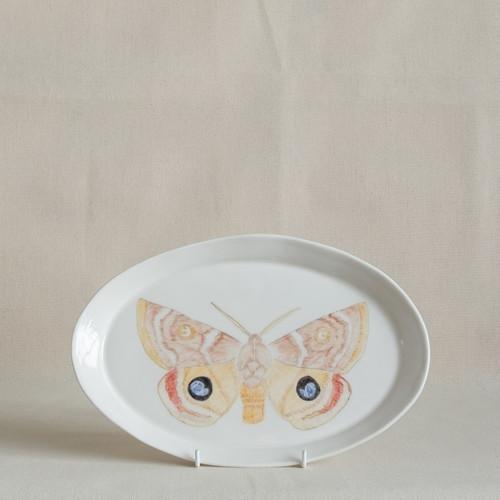 Dryandra Moth Medium Platter by Casa Adams Fine Wares - CAA.013
