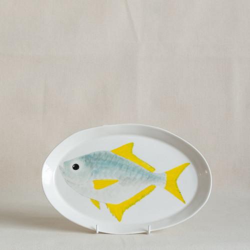 Woodward's Pomfret Medium Platter by Casa Adams Fine Wares - CAA.012