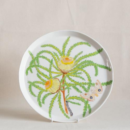 Banksia & Dryandra Large Round Platter by Casa Adams Fine Wares - CAA.003