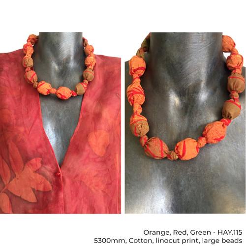 Cotton Beads by Yaja Hadrys - HAY.111 - HAY.117