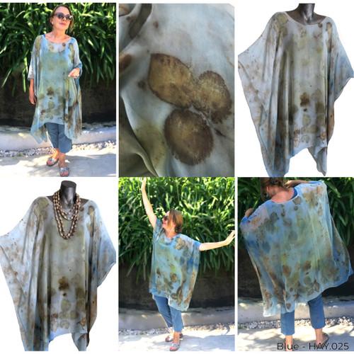 Sheer Silk Mid Tunic by Yaja Hadrys - HAY.025 - HAY.028