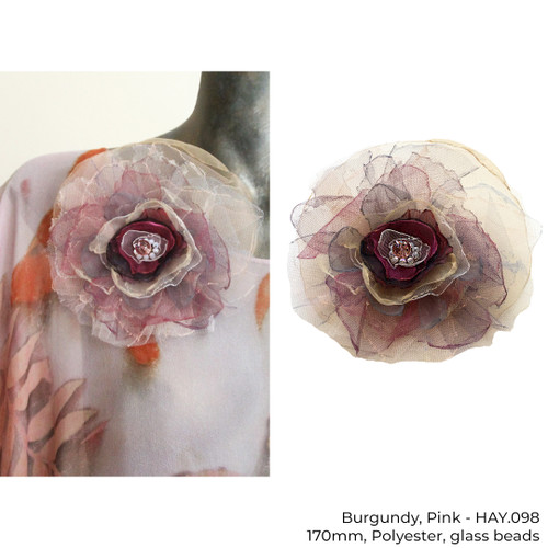Flower Brooch by Yaja Hadrys - HAY.095 - HAY.104