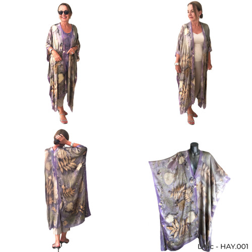 Long Silk Jacket by Yaja Hadrys - HAY.001 - HAY.009