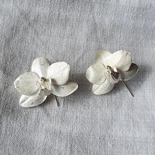 Botanical Earrings Orchid by Anja Jagsch - JAA.009 - JAA.012
