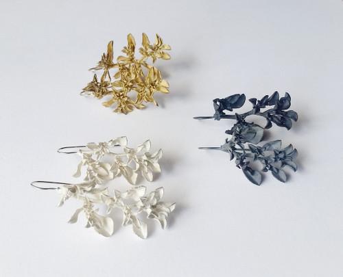 Botanical Earrings Galenia Weed by Anja Jagsch - JAA.013 - JAA.016