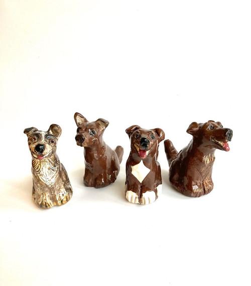 Whistling Dog Brown by Janet Selby - SEJ.008 - SEJ.010