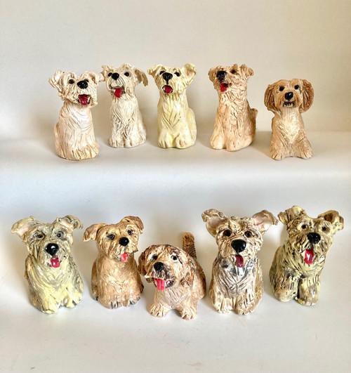Whistling Dog Maltese by Janet Selby - SEJ.048 - SEJ.060
