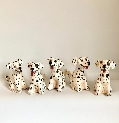 Whistling Dog Dalmatian by Janet Selby - SEJ.081 - SEJ.085