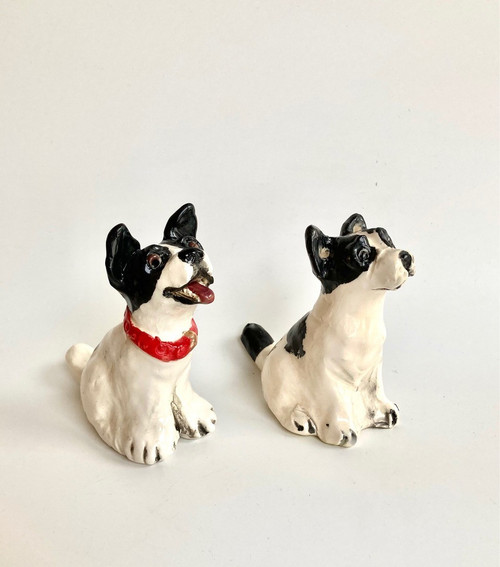 Whistling Dog French Bulldog by Janet Selby - SEJ.039 - SEJ.040
