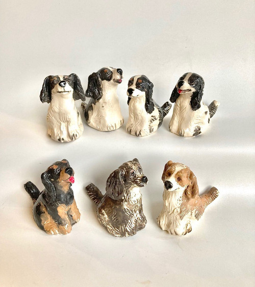 Whistling Dog Cavalier by Janet Selby - SEJ.041 - SEJ.047