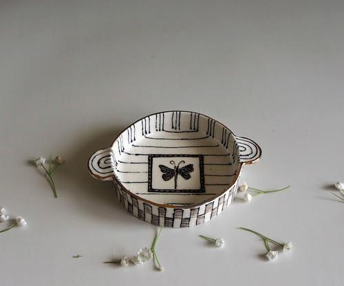 Small Bowl Butterfly by Helen Shin - SHH.020